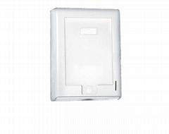 Wall Mount Hand Roll tissue towel dispenser Wet Toilet Paper Dispenser