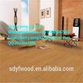 Fireproof high glossy laminate flooring 1