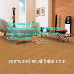 Fireproof high glossy laminate flooring
