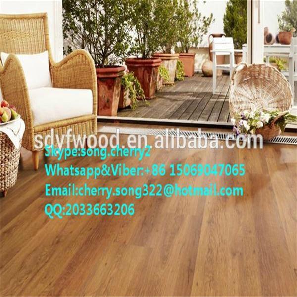 Fireproof high glossy laminate flooring 2