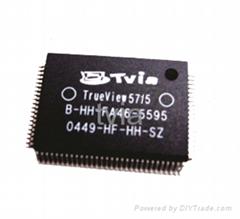 多媒體播放處理器芯片TrueView 5715數模處理