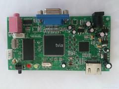 英圖電子高清HDMI轉VGA帶scaler方案