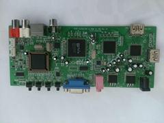 AV/SV/VGA/Ypbpr/HDMI转HDMI方案支持全