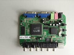 英图电子TV5715系列芯片适用方案信号转换VGA转色差