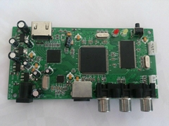 英图电子TV5735芯片显示器方案AV转HDMI