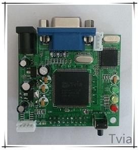 英图电子Tvia—656转VGA安防监控 1