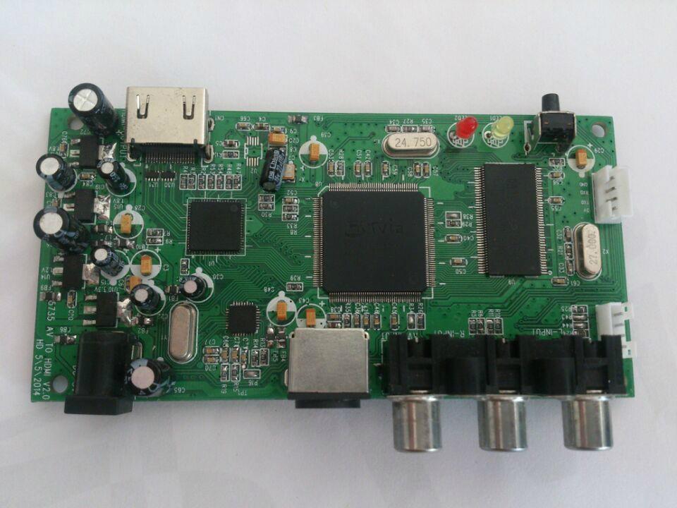 AV(CVBS)转HDMI方案及主控芯片TV5725 2