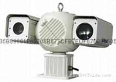 雙光熱成像監控攝像機