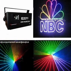 sd card 1 W RGB beam&animation disco club party dj lighting