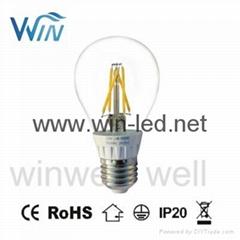 4W 5W 6W 7W E14 E27 Dimmable LED Filament bulb
