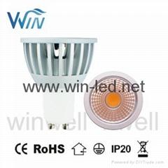 5W 7W COB LED GU10 MR16 LED Spotlight
