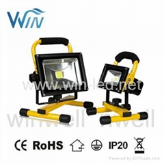 10W 20W 30W 50W Battery LED rechargeable LED flood light