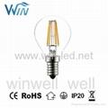E14 E12 2W 3W 4W LED Filament C32 C35 C37 Candle Bulbs 1