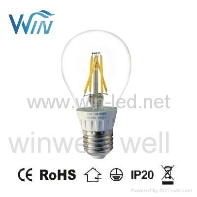 E14 E12 2W 3W 4W LED Filament C32 C35 C37 Candle Bulbs 2