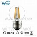 E14 E12 2W 3W 4W LED Filament C32 C35 C37 Candle Bulbs 4