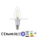 E14 E12 2W 3W 4W LED Filament C32 C35 C37 Candle Bulbs 5