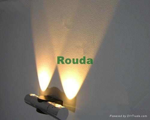 wall lamp 6w epistar 120lm/w 1