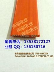 TVVBP電鍍設備屏蔽扁電纜