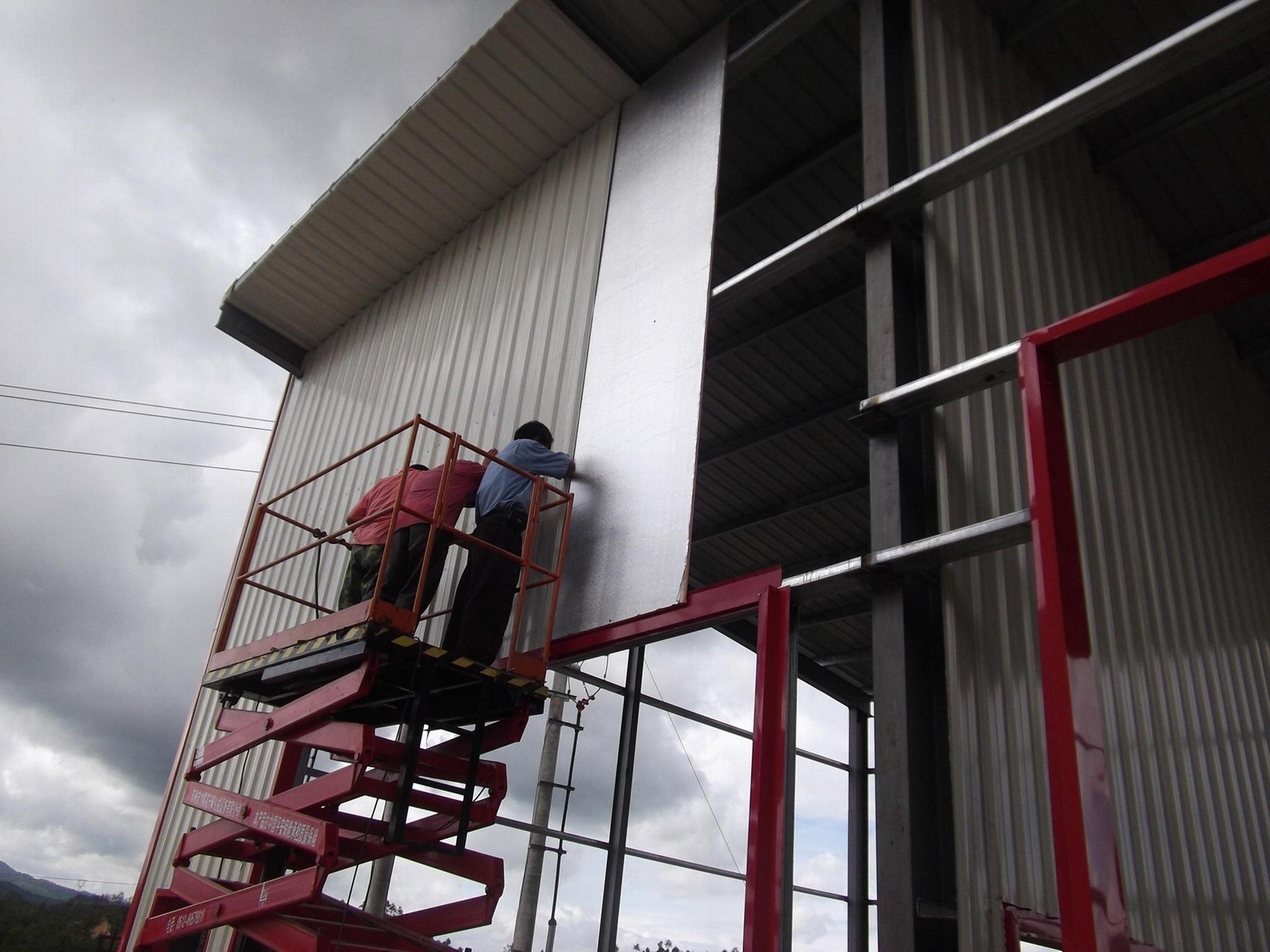 鋼結構保溫隔板 3