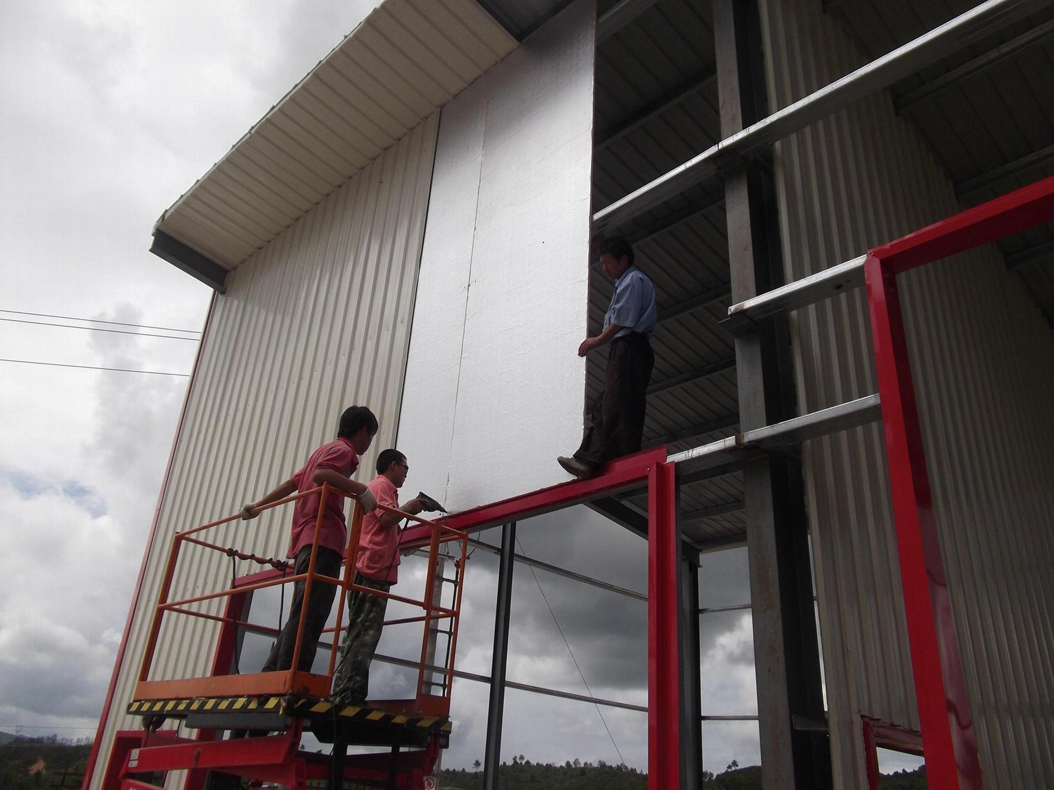 鋼結構保溫隔板 4