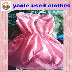 used clothing  Used Silk Dress