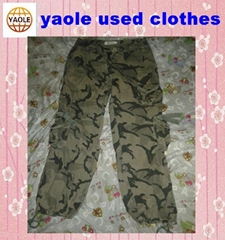 used clothes  Cargo Long Pants