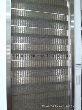 Hot Sell Copy Linnet Zebra Blind with Simple Profile 2