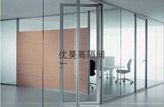 28款简约型单面玻璃隔墙