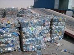 PET bottle plastic scrap