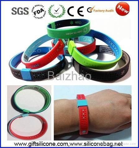 Cheap custom silicone bracelets 3