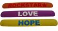 rubber Wrist Bands, mix Rubber Bracelets -NEW, debossed, embossed, imprint 4