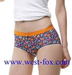 Wholesale Comfortable Flower Print Lady Love Lingerie