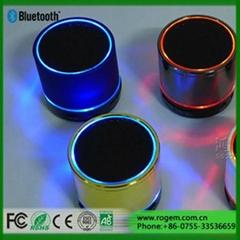 Best portable S08 bluetooth speaker bluetooth speaker with fm radio led light