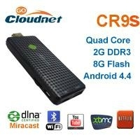 android tv stick cloudnetgo CR9s RK3188 qual core tv dongle