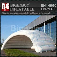 Christmas Infaltable Igloo Tent, Inflatable Dome Tent