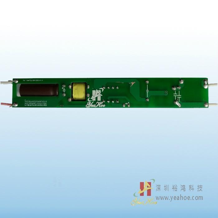 LED光源系列无频闪非隔离LED日光管T8椭圆管薄料-18W 1