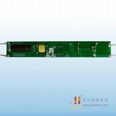 LED光源系列无频闪非隔离LED日光管T8椭圆管薄料-18W