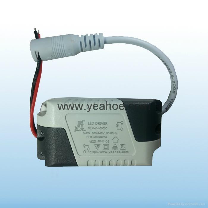 LED光源LED平板燈9W300mA 4
