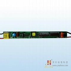 無頻閃非隔離LED電源T8日光燈9W-18W