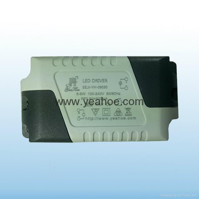 隔离LED恒流电源9W300mA 1