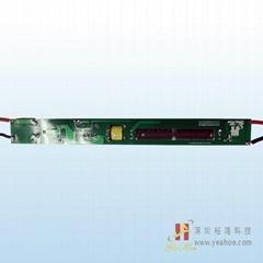 LED光源系列无频闪非隔离LED日光管T8椭圆管厚料-18W