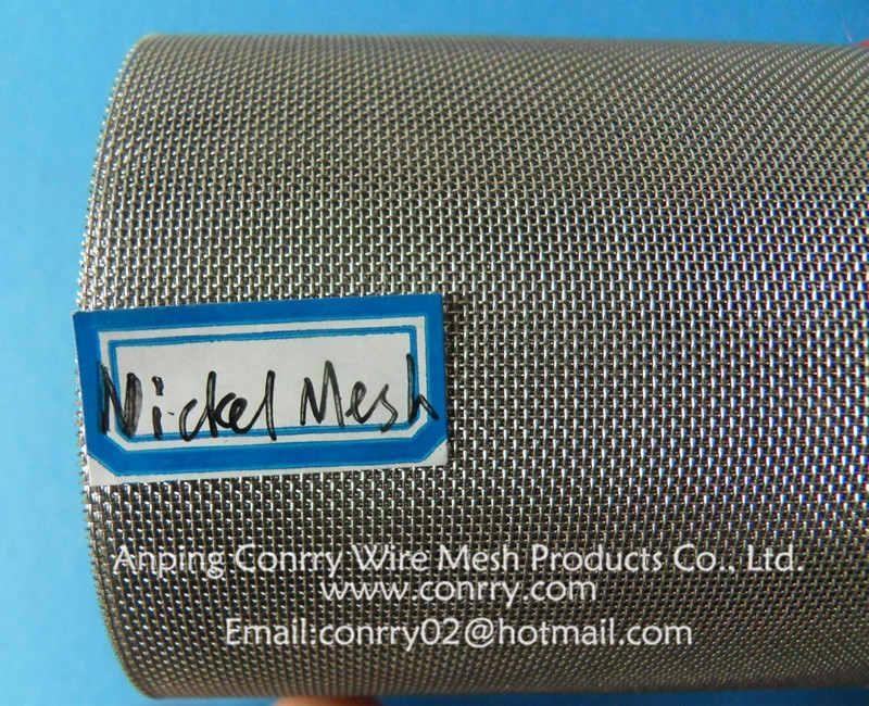 Nickel wire mesh,Nickel wire cloth,Nickel wire netting 2