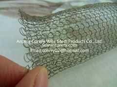 Vapor-liquid filter wire mesh,gas-liquid