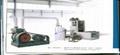 HD-PE manufacturing machine of apertured