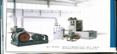 HD-PE manufacturing machine of apertured film