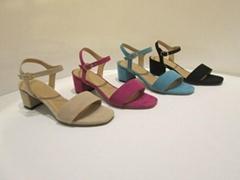 Women sandals with heel