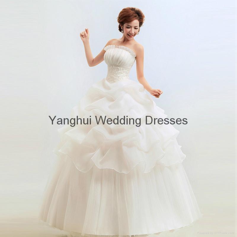 wedding dress YH001 1