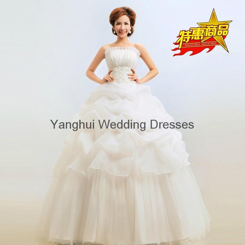 wedding dress YH001 2
