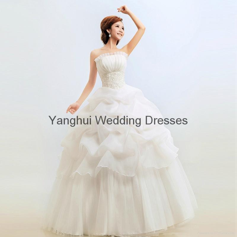 wedding dress YH001 3