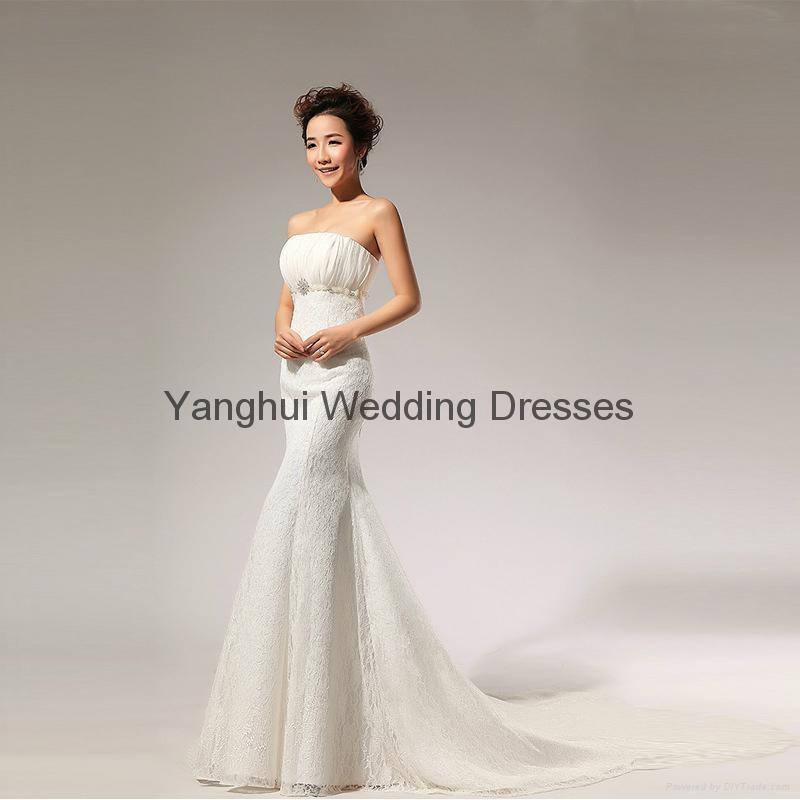 wedding dress YH007 2